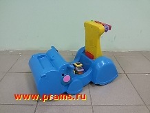 Лот 12724. Каталка-ходунок Fisher Price Бегемот.